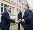 Prezydent na budowie nowego bloku Enei w Kozienicach